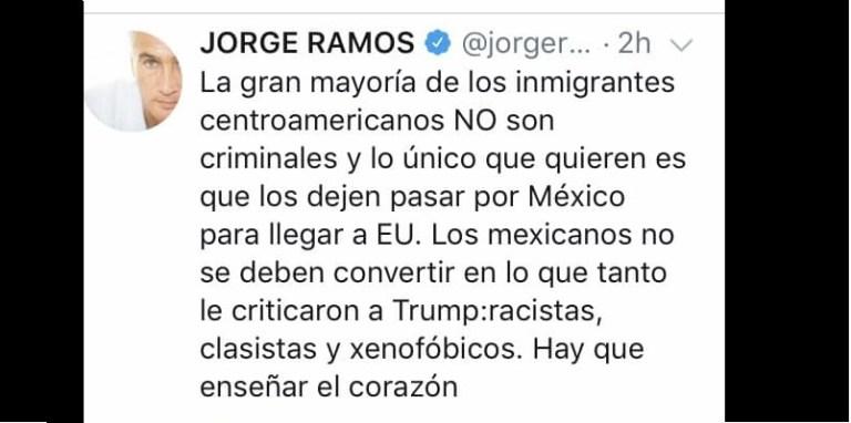 Cuando los mexicanos repiten argumentos de EU contra migrantes