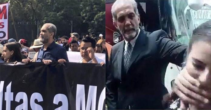 Juan Dabdoub, ultraderechista que agredió a mujeres estuvo en la #MarchaFifí