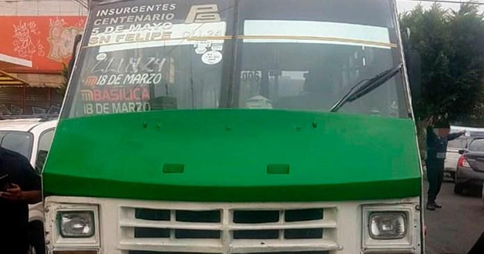 Microbusero atropella a niño de 6 años en la Gustavo A maderojpg