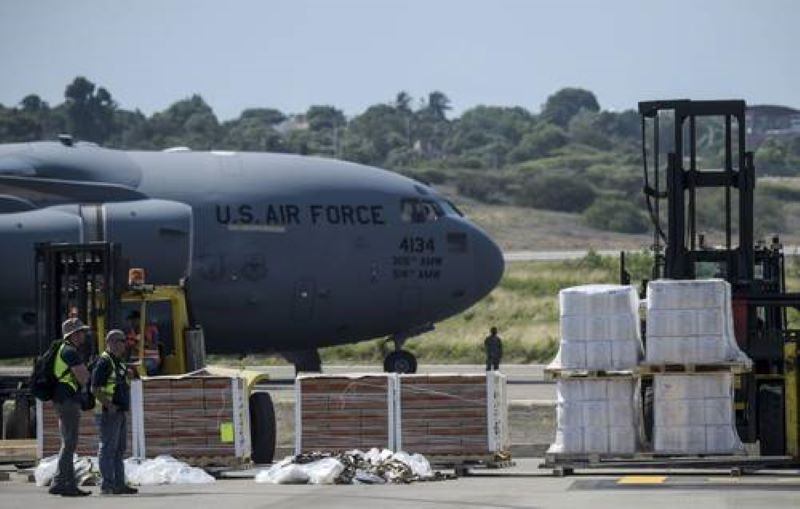 """Aviones EU venezuela - EU envía aviones militares con """"ayuda humanitaria"""" a Venezuela"""