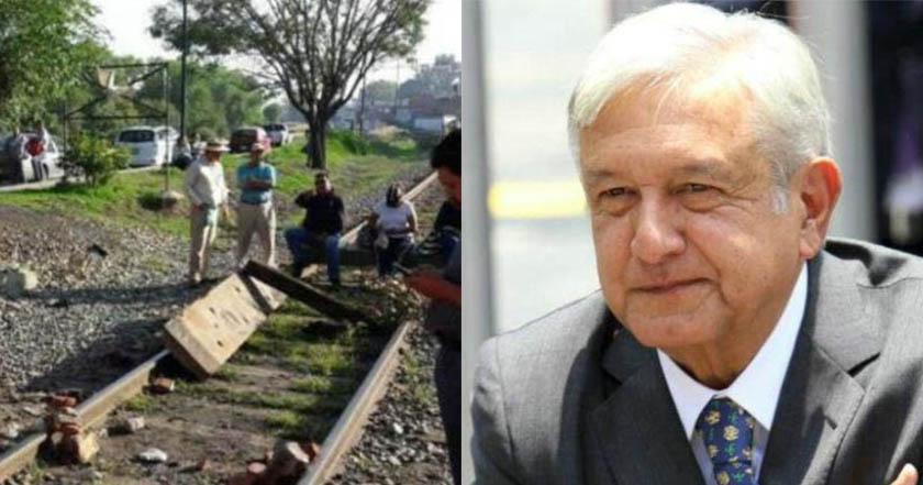 CNTE libera vías férreas en Michoacán por buena voluntad hacia AMLO - CNTE libera vías férreas en Michoacán por buena voluntad hacia AMLO