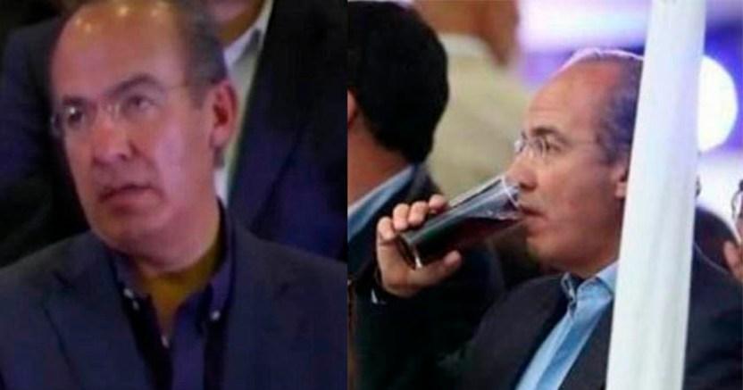 Calderón niega ser alcohólico dice que sólo le gusta convivir - Felipe Calderón niega ser alcohólico, dice que sólo le gusta convivir