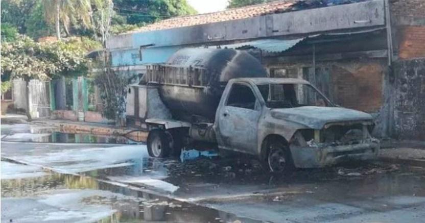 Explota pipa de gas LP en una tortillería de Tonalá Chiapas  - Explota pipa de gas LP en una tortillería de Tonalá, Chiapas