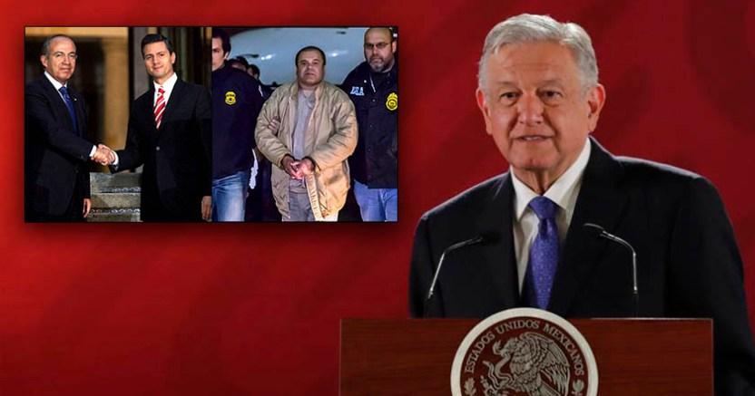 Soy partidario de condenar al régimen  AMLO sobre EPN y Calderón ligados al Chapo - AMLO sobre EPN y Calderón ligados al Chapo