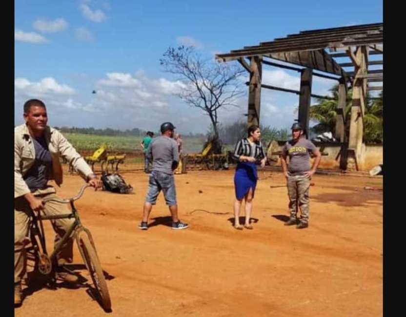 avionahabana - Avión militar se estrella cerca de la Habana; no hay victimas