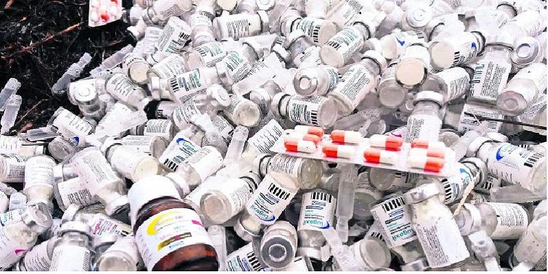 medicinas - Medicinas caducas con valor de 200 millones en Veracruz