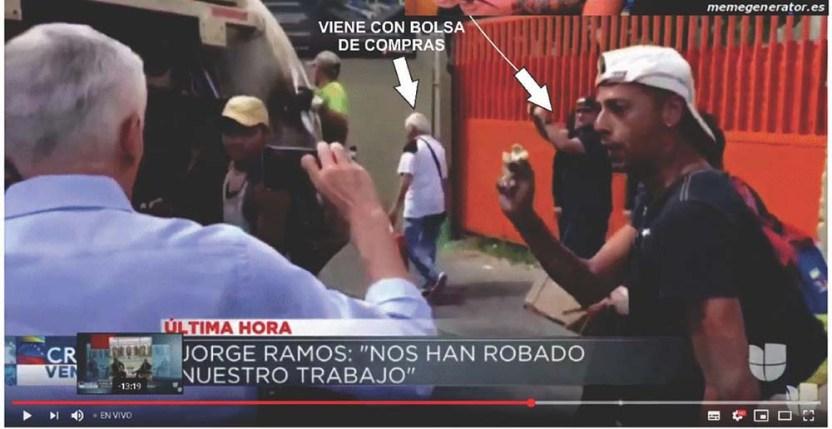 ramos - Jorge Ramos 'exhibe' pobreza en Venezuela; lo comparan con Laura Bozzo