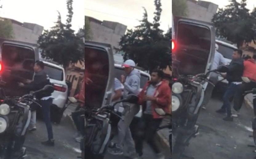Asesinan comerciante video - Sujetos asesinan a comerciante en Álvaro Obregón (VIDEO)