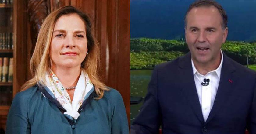 Esteban Arce intenta pasar como no machista Beatriz Gutiérrez le responde - Esteban Arce intenta pasar como no machista; Beatriz Gutiérrez responde