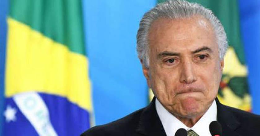 Juez ordena mantener en prisión al expresidente de Brasil Michel Temer - Juez ordena mantener en prisión al expresidente de Brasil Michel Temer