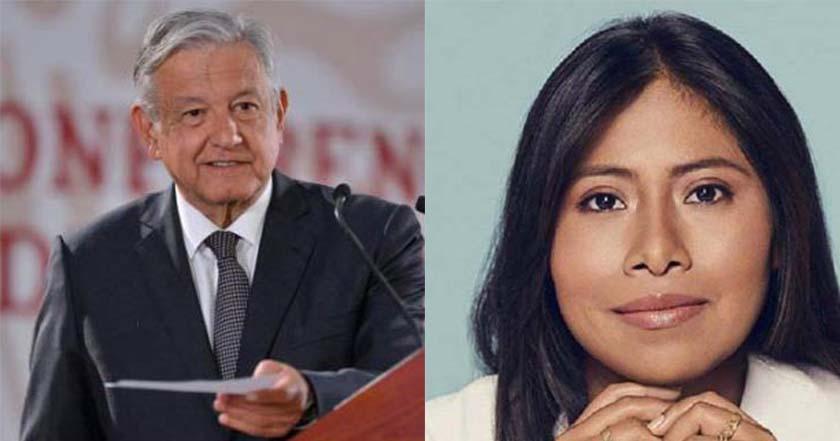 Yalitza Aparicio espera que AMLO cumpla con lo que te promete - Yalitza Aparicio espera que AMLO cumpla lo que promete