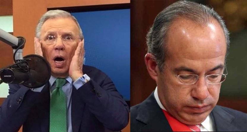 joaquin lopezdoriga calderon - Felipe Calderón y López-Dóriga se lanzan contra Jenaro Villamil