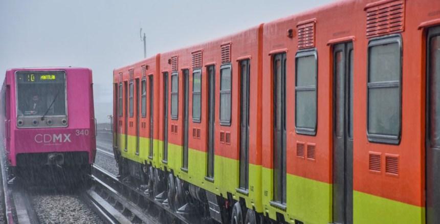 Metro lluvia marcha de seguridad MG PHOTO 2018 06 14 17 09 24 1 1 - Tránsito lento por las lluvias de esta tarde en líneas del metro