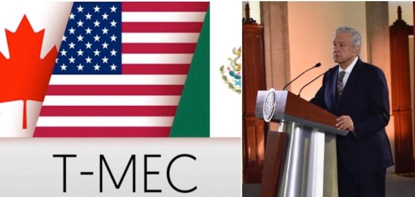 T mec AMLO - Se está cumpliendo con acuerdos de T-MEC: AMLO