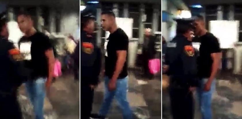policia Taxqueña - Captan agresión de ambulante vs policía del Metro Taxqueña (Video)