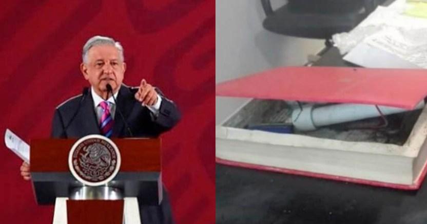 AMLO condenó los actos violentos vs funcionarios a él lo cuida la gente - AMLO condenó los actos violentos vs funcionarios; a él lo cuida la gente