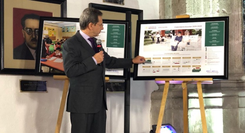 SEP calendario - SEP presenta calendario escolar 2019-2020, que prioriza la convivencia