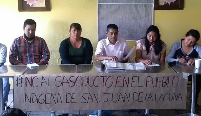 jalisco - Empresa viola amparo contra gasoducto en comunidad indígena de Jalisco