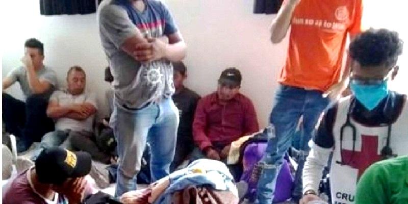 migrantes2 - Rescatan a 112 niños y 115 adultos migrantes en Ecatepec