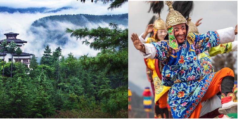 butan - Bután, por Ley el 60% es bosques, hoy tiene 72% arbolado
