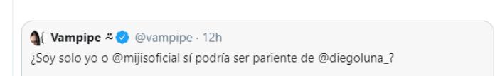 """""""Me tocó ser el guapo de la familia """", Mijis sobre parecido con Diego Luna"""