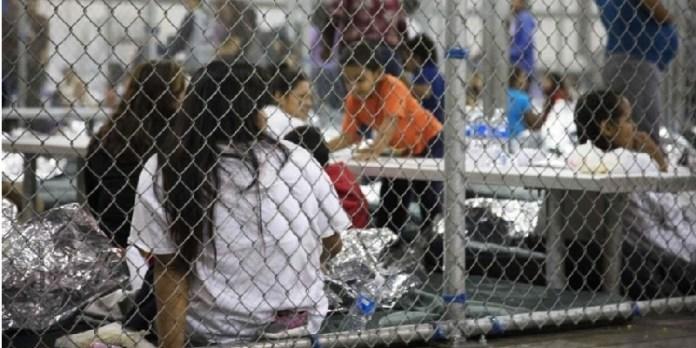 Trump, centros de detención de infantes