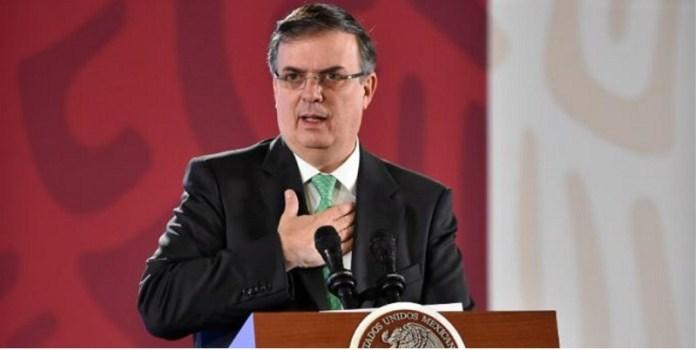 México, Secretario de Relaciones Exteriores, Marcelo Ebrard