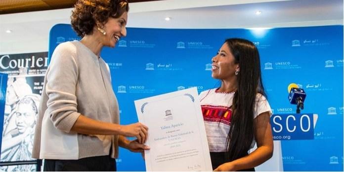 Nombran a la actriz Yalitza Aparicio embajadora de la Unesco