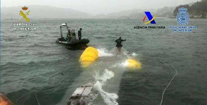 Europa, primer narco submarino detenido
