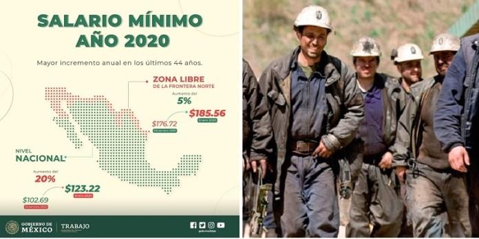 Salario, incremento histórico en México