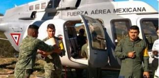 Sedena, puente aéreo a Durango