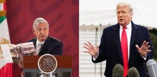 AMLO propuso a Trump pago en especie por avión presidencial