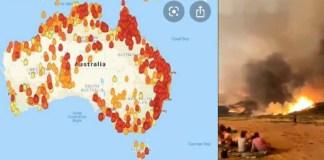 Australia, incendios devastadores