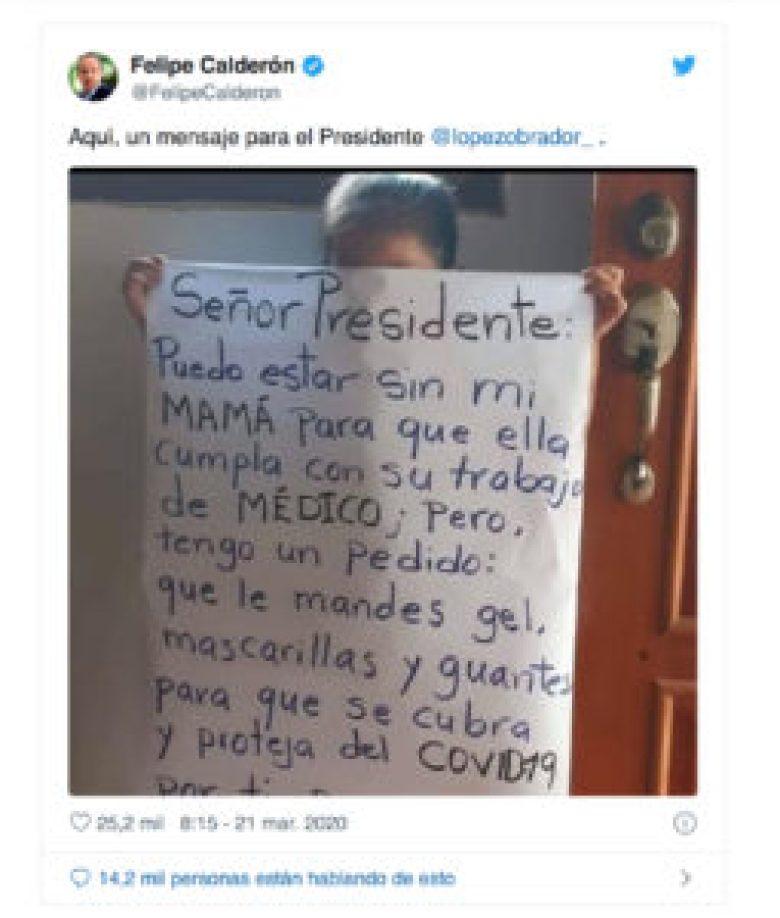 Tuit Calderón; se cae el montaje