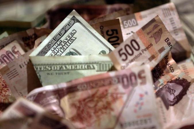 Peso mexicano se recupera. Foto: Reuters