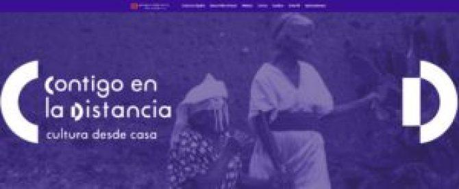 """cultura1 300x124 - """"Contigo en la distancia"""" desde la Secretaría de Cultura"""
