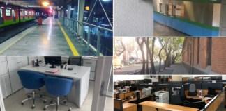 #UnDiaSinMujeres: Así lucen las calles, oficinas y las escuelas sin ellas