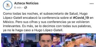 Repudian a TV Azteca
