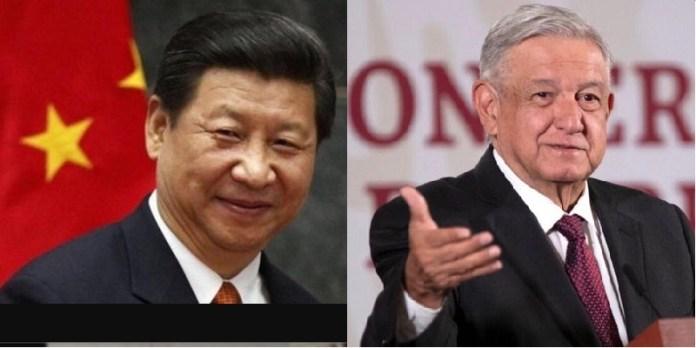 China seguirá apoyando a México