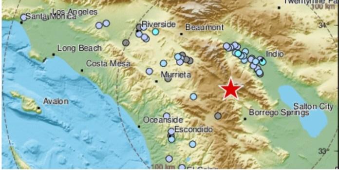 Sismo en California remece Tijuana