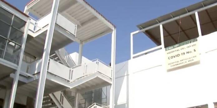 Sedena rehabilita hospital abandonado para atender Covid en Cuernavaca