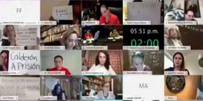 """Legisladores de Morena piden """"cárcel"""" para Felipe Calderón"""