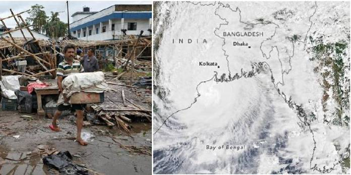 Graves inundaciones en India y Bangladesh