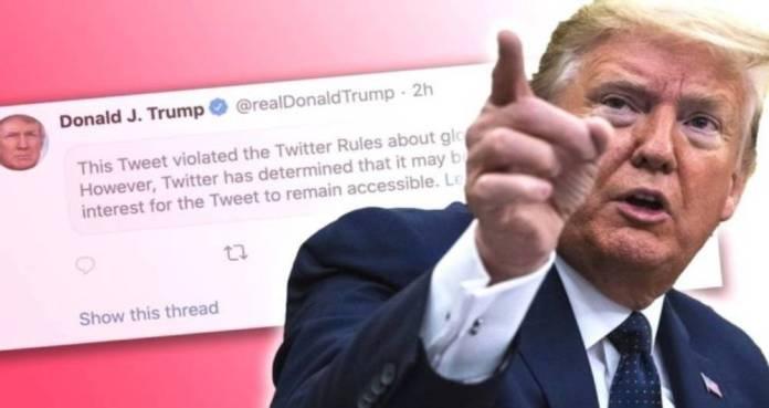 674628 1 - Twitter anuncia que podría suspender la cuenta de Trump si continúa con sus mensajes amenazantes