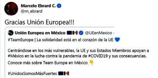 Unión Europea apoya a México