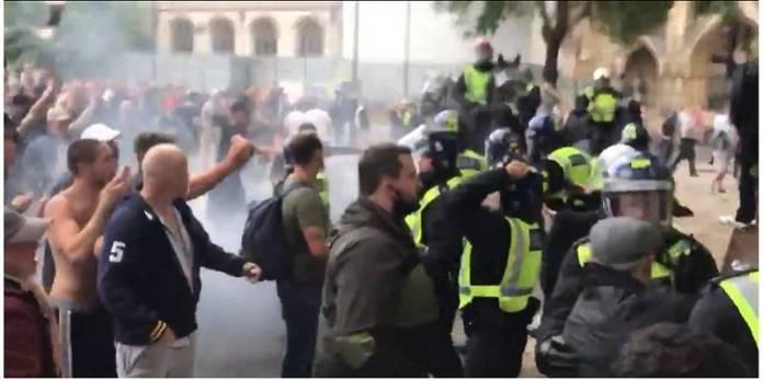 Suspenden movilización antirracista en Londres
