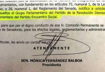 Bancadas de PRD y PES en Senado, disueltas