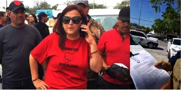 Denuncian detención de Susana Prieto