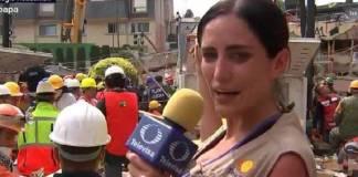 """En redes sociales recuerdan a """"Frida Sofía"""" el montaje de Televisa en el 19-S"""
