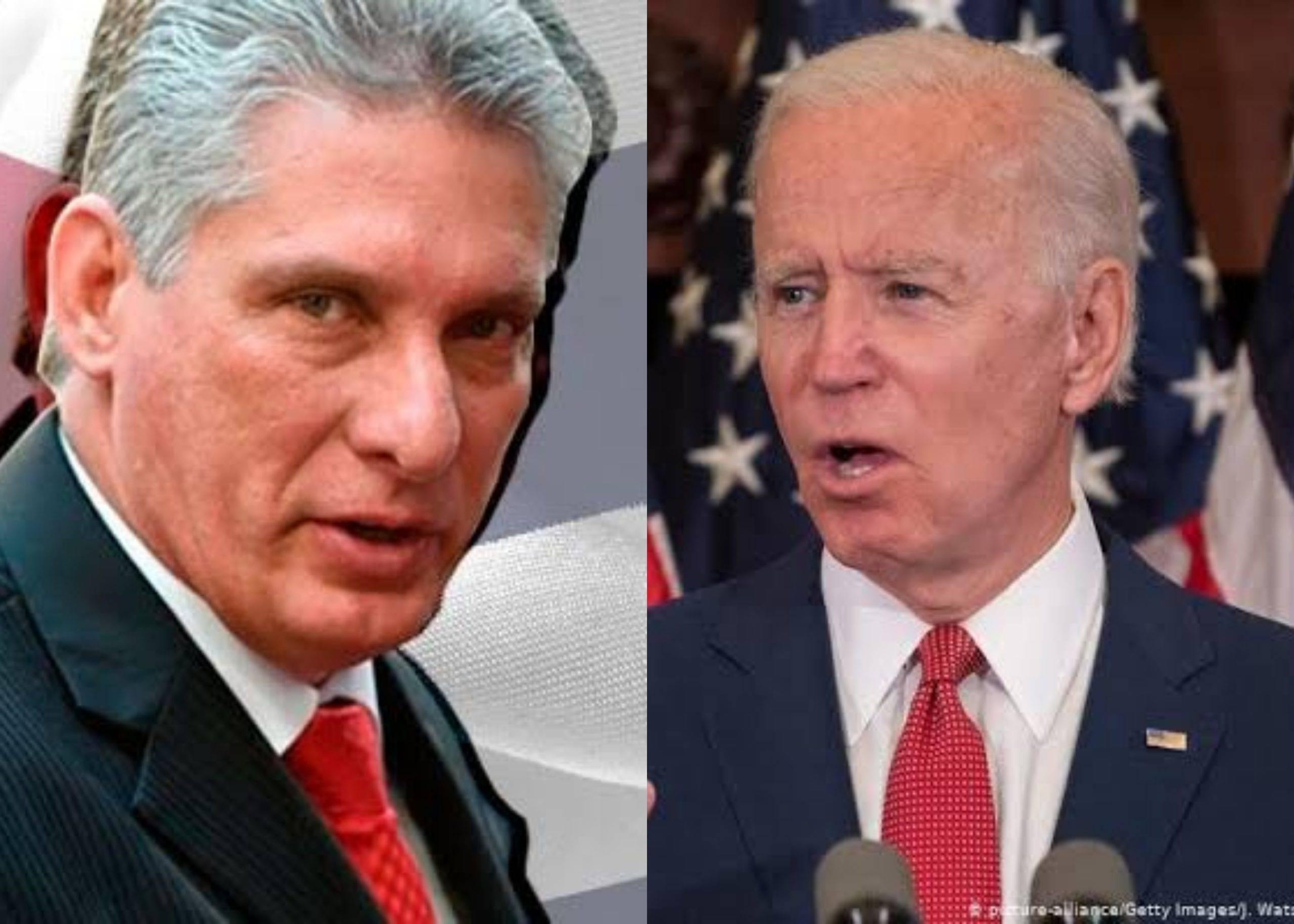 Díaz Canel dice confiar en una 'posible relación constructiva con EE. UU.'